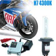 Kit Xenon Moto 12V 35W H7 4300K