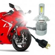 Lâmpada Super Led Moto 4500 Lumens 12V 24V H4 (Bi) 6000K
