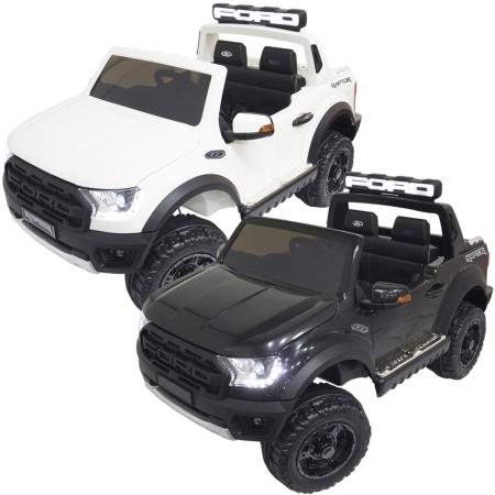 Mini Carro Caminhonete Elétrico Infantil Criança 24V Ford Ranger Raptor Controle Brinqway BW-121