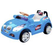 Mini Carro Elétrico Infantil 6V Importway BW001-A Azul