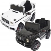 Mini Carro Elétrico Infantil Criança 12V Mercedes G63 Amg Controle Remoto Motorizado Brinqway BW-124