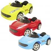 Mini Carro Elétrico Infantil Criança 6V com Controle Remoto Importway Brinqway BW-097 Bivolt