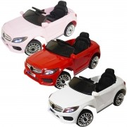 Mini Carro Elétrico Infantil Criança 6V com Controle Remoto Importway Mercedes BW-007 Bivolt