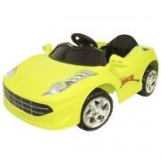 Mini Carro Elétrico Infantil Criança 6V com Controle Remoto Verde Brinqway BW-097VD Bivolt
