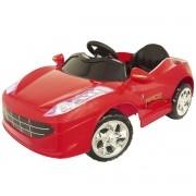 Mini Carro Elétrico Infantil Criança 6V com Controle Remoto Vermelho Brinqway BW-097VM Bivolt