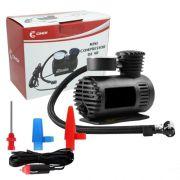 Mini Compressor de Ar Automotivo Portátil 12V Cinoy 250 Psi com 3 Bicos Adaptadores YN-AR001