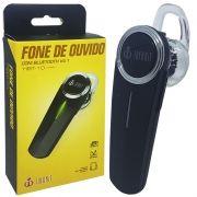Mini Fone de Ouvido Bluetooth 4.1 com Microfone sem Fio para Celular Infokit HBT-10 Preto