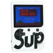 Mini Vídeo Game Portátil de Mão 400 Jogos Retro Clássico 1 Jogador Branco SUP 3353 Barato