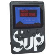 Mini Vídeo Game Portátil de Mão 400 Jogos Retro Clássico 1 Jogador Preto SUP 3353 Barato