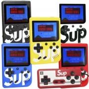 Mini Vídeo Game Portátil de Mão 400 Jogos Retro Clássico Controle 2 Jogadores SUP 3354 Barato