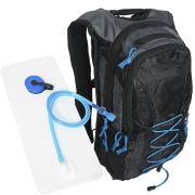 Mochila de Hidratação Térmica + Bolsa de Água 2,0 L Bike Atrio BI051 Adventure Preta