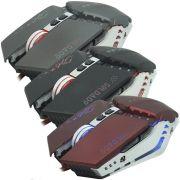 Mouse Óptico Gamer Usb 2400 Dpi 6 Botões Led Rgb 4 Cores Cabo Infokit X Soldado GM-705