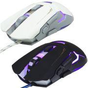 Mouse Óptico Gamer Usb 3200 Dpi 7 Botões Led Rgb 7 Cores Cabo Infokit X Soldado GM-720 2547
