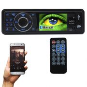 Mp5 Player Automotivo 1 Din Tela 3 Exbom MPCC-D30A Som Mp3 Fm Usb Sd Bluetooth