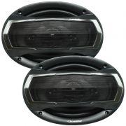 Par Alto Falante 6x9 Polegadas 240W Rms 4 Vias Quadriaxial Roadstar RS-695 Unit