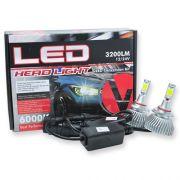 Par Lâmpada Super Led 6400 Lumens 12V 24V 32W Velox Parts HB3-9005 6000K