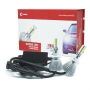 Par Lâmpada Super Led 7400 Lumens 12V 24V 40W Cinoy 3D H27 6000K