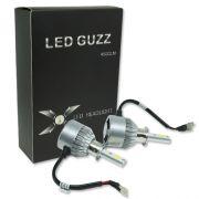 Par Lâmpada Super Led 9000 Lumens 12V 24V 40W Guzz H3 6000K