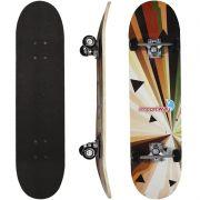 Skate Infantil 31´´ Iniciante Montado Completo Masculino Feminino Importway BW-014 Estampado