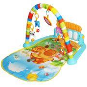 Tapete de Atividades Bebe Infantil Musical Mobile Piano 5 Brinquedos Interativo Importway BWTIP-001