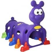Túnel Infantil Centopeia Brinquedo Playground Para Criança Violeta Roxo Brinqway Importway BW-075VT