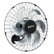 Ventilador Parede 50cm 200W Industrial Turbo Turbão 6 Pás Bivolt 110V 220V Preto Vitalex