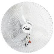 Ventilador Parede 50cm Bivolt 110V 220V 130W Industrial Turbo Turbão 3 Pás Vent New 511 Branco