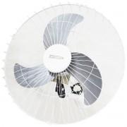 Ventilador Parede 60cm 200W Industrial Turbo Turbão 3 Pás Grade 40 Fios GA Vitalex Branco