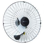 Ventilador Parede 60cm 200W Industrial Turbo Turbão 3 Pás Grade 40 Fios GA Vitalex Preto