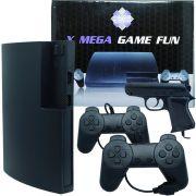 Vídeo Game Console X Mega Fun Nes Retro Polystation 3 Antigo com 999 Jogos e Acessórios Bivolt