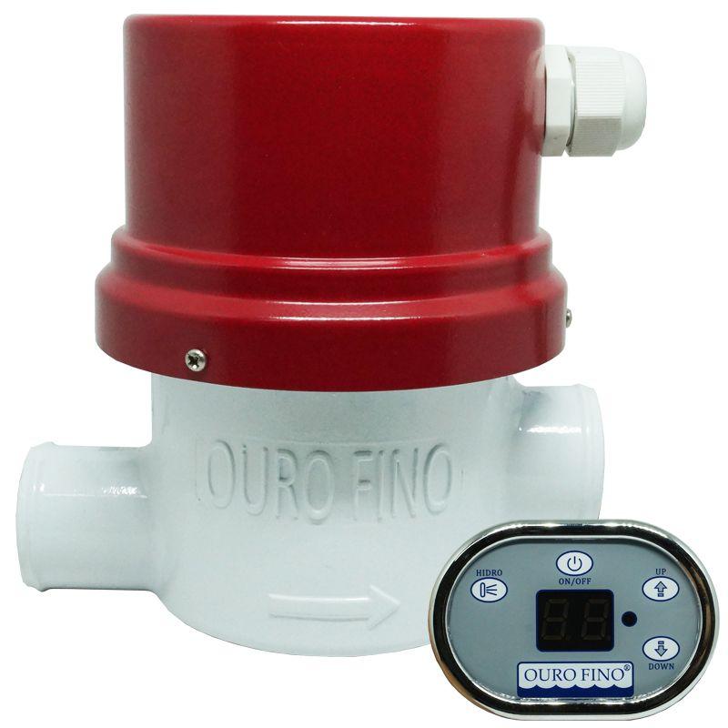 Aquecedor Banheira Hidro Spa Hidromassagem Elétrico Digital 8000W 220V Ouro Fino  - BEST SALE SHOP