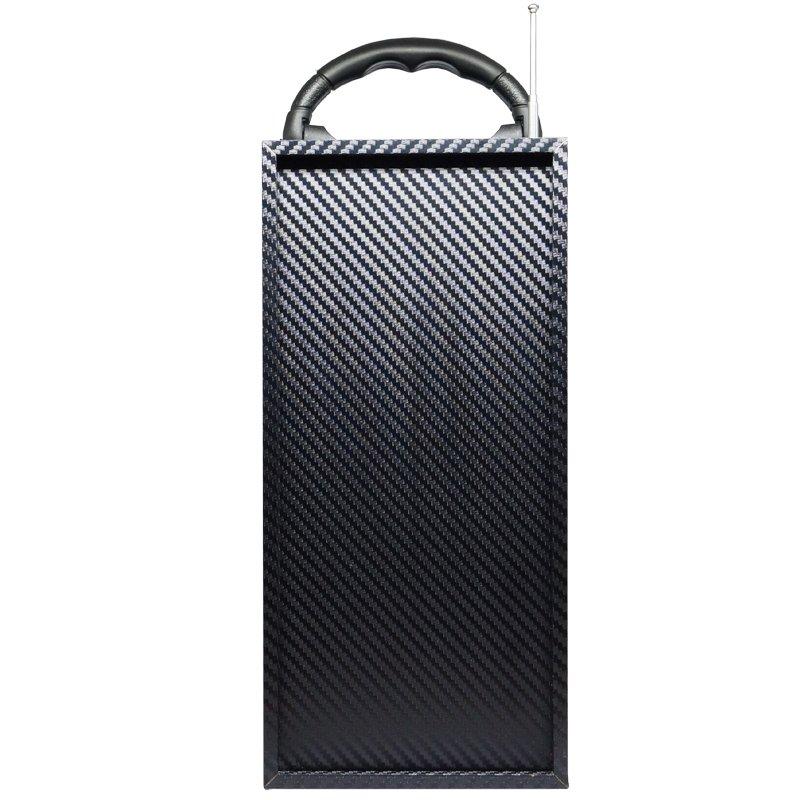 Caixa Som Amplificada Portátil Bluetooth Mp3 Fm Usb Sd Aux Bateria 10W Rms Exbom Vermelha CS-M434BT