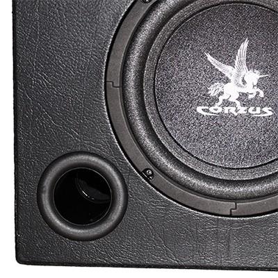 Caixa Som Automotivo Amplificada Subwoofer 12 200W Rms Corzus CXS200 com Módulo Mono  - BEST SALE SHOP