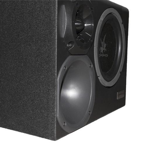 Caixa Som Automotivo Amplificada Trio 12 300W Rms Corzus CXT300 com Módulo Completa  - BEST SALE SHOP