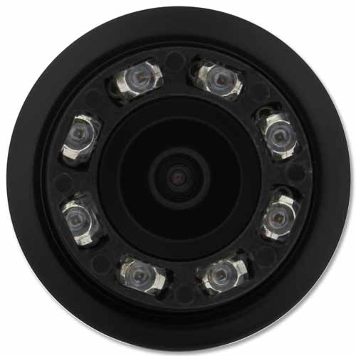 Câmera de Ré Parachoque Infravermelho Led Noturna Tech One T1CAVN 18,5mm Preto - BEST SALE SHOP