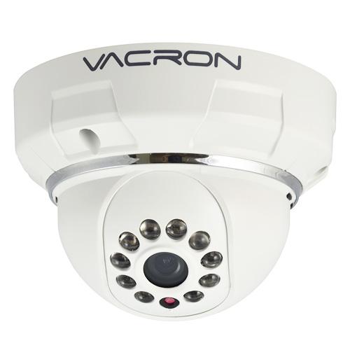 Câmera IP Dome Prossional Interna 1MP 2,8mm 1_4 720p HD Vacron VIH-DM281A Branco