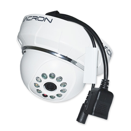 Câmera IP Dome Prossional Interna 1MP 2,8mm 1_4 720p HD Vacron VIH-DM281A Branco