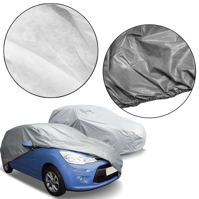 Capa Automotiva Cobrir Carro Protetora Forrada Central Tamanho P Carrhel