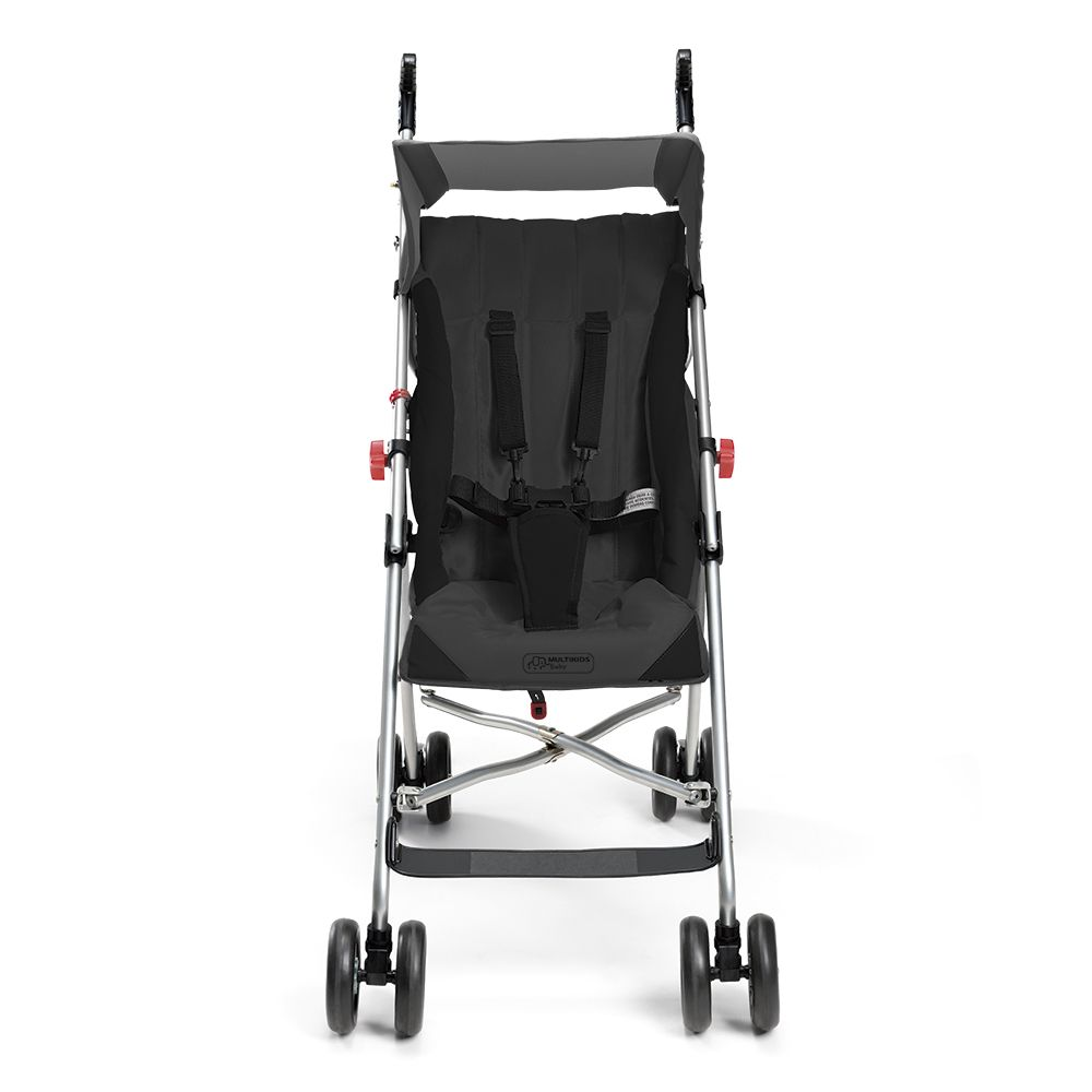 Carrinho de Bebê Passeio Infantil Multikids Baby Pocket Guarda Chuva BB502 Cinza  - BEST SALE SHOP