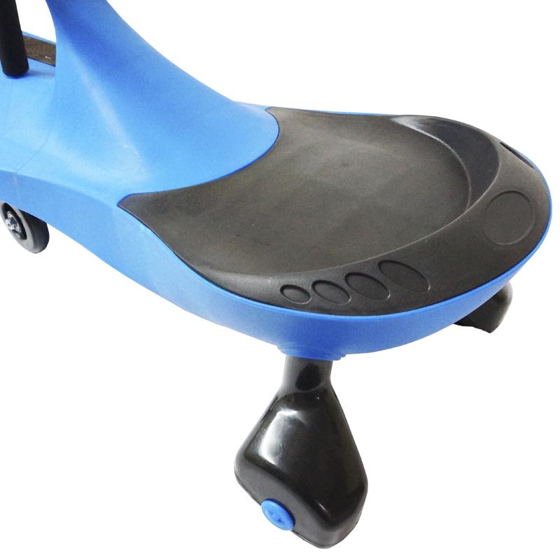 Carrinho Gira Gira Car Infantil Brinquedo Criança Importway Giro BW-004-AZ Azul
