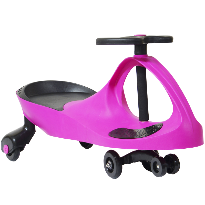 Carrinho Gira Gira Car Infantil Brinquedo Criança Importway Giro BW-004-RS Rosa