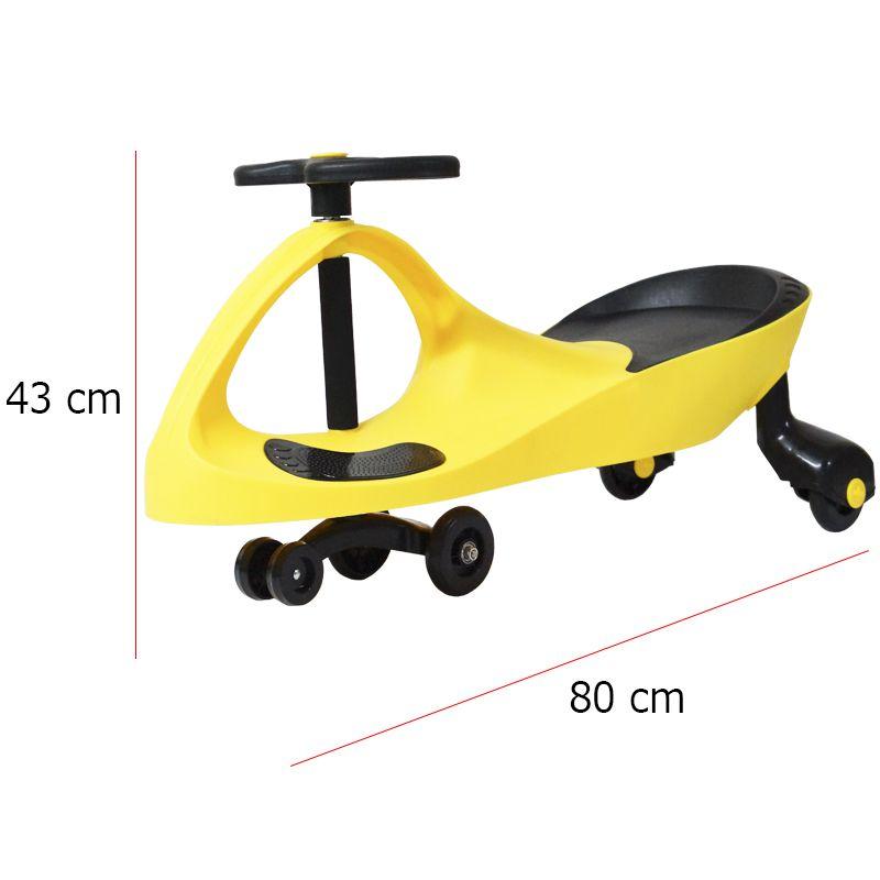 Carrinho Gira Gira Car Infantil Brinquedo Criança Importway Giro BW-004GE