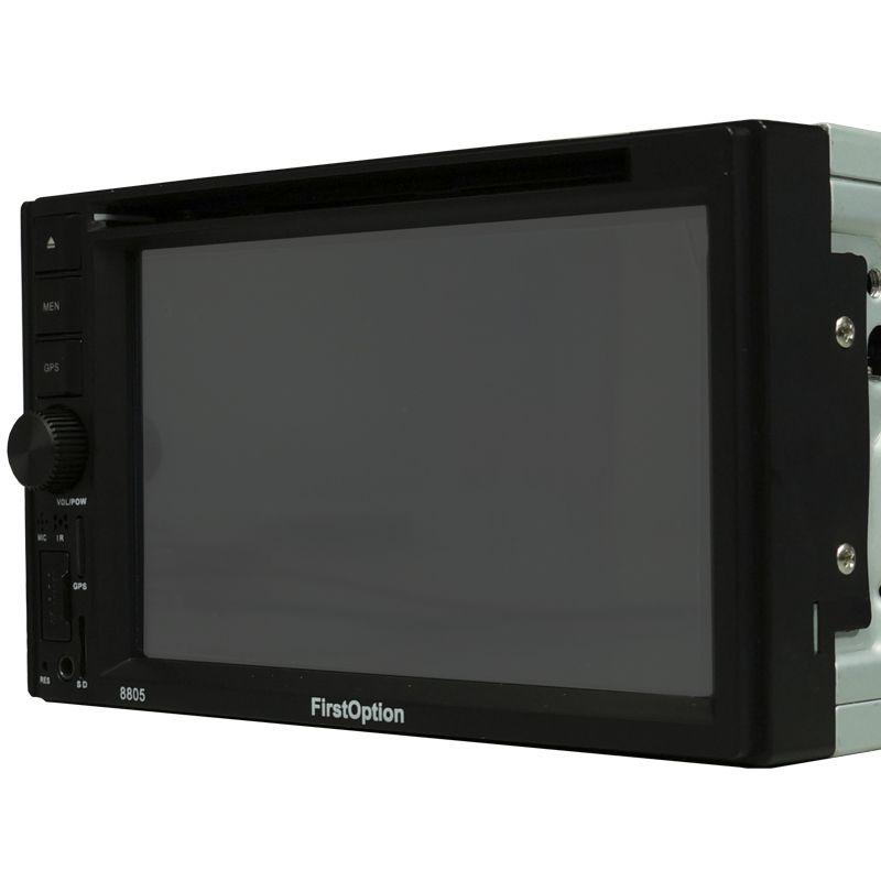 Central Multimídia Dvd 2 Din 6.2 First Option 8805 TV Usb Bluetooth Tv Digital Gps
