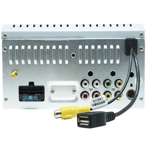 Central Multimídia First Option 6200M Sw4 Hilux 05 à 11 Fielder Corolla 03 à 08 Usb Bluetooth Gps