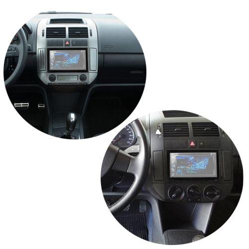 Central Multimídia Mp5 Polo Hatch/Sedan 03/13 D720BT Moldura Bluetooth Câmera Ré  - BEST SALE SHOP