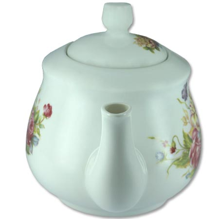 Chaleira de Porcelana Brilho de Diamante Bcyc-1604 Branco 650Ml  - BEST SALE SHOP