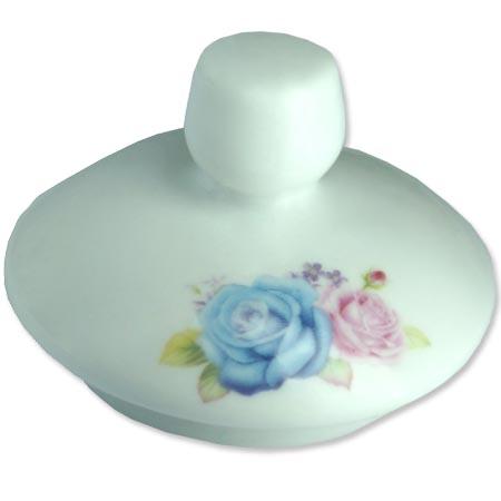 Chaleira de Porcelana Brilho de Diamante Bcyc-1609 Branco 650Ml