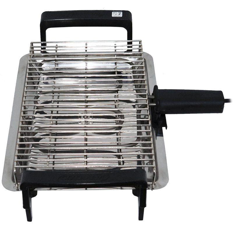Churrasqueira Elétrica Portátil 1250W Econômica Compacta 110V 127V Cotherm 1261 Anex Grill