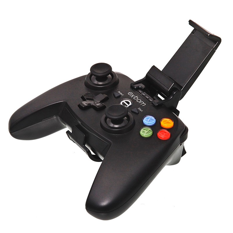 Controle Joystick Celular Bluetooth Android Iphone Ios Tablet Gamepad Exbom