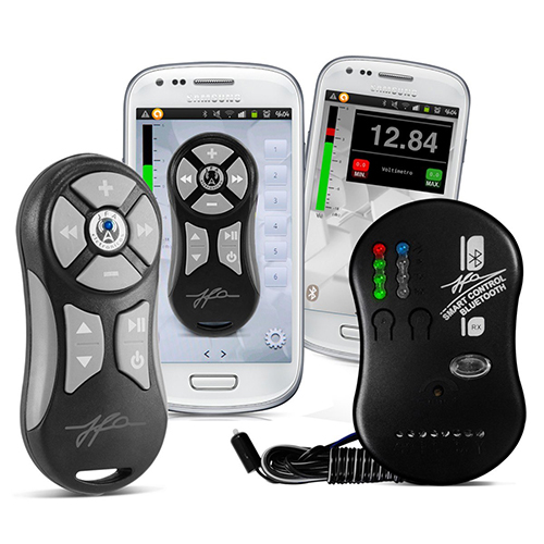 Controle Som Automotivo Jfa Smart Bluetooth Prata